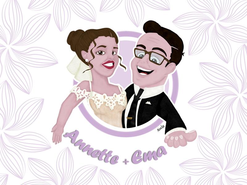 annette & ema illustrazione